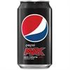 Pepsi Max Max Cola Canned Beverage - Soda, Cola Flavor - 12 fl oz - Can - 24 / Carton