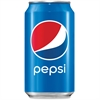 Pepsi Cola Canned Soda - Soda, Cola Flavor - 12 fl oz - Can - 24 / Carton