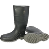 Honeywell Iron Duke Steel Toe Safety Boots - 8 Boot Size - Water Protection - Steel Toe, Rubber, Polyvinyl Chloride (PVC) - Black, Gray - 2 / Pair