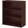 "Bush Business Furniture Bookcase; Harvest Cherry - 3 Compartment(s) - 48"" Height x 35.7"" Width x 15.5"" Depth - 1Each"