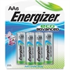Energizer EcoAdvanced AA Batteries - AA - Alkaline - 6 / Pack