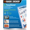 "Black & Decker TimeShield Thermal Laminating Pouches, Letter - Sheet Size Supported: Letter 8.50"" Width x 11"" Length x 3 mil Thickness - Laminating Pouch/Sheet Size: 3 mil Thickness - Durable, Fade Re"