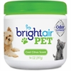 Bright Air Pet Odor Eliminator Air Freshener - Gel - 14 oz - Cool Fresh - 60 Day - 1 Each