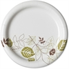 "Dixie Pathways Heavyweight Paper Plates - 5.82"" Diameter Plate - Paper Plate - Microwave Safe - 1000 Piece(s) / Carton"