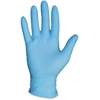 Protected Chef Disposable Nitrile General Purpose Gloves - Small Size - Nitrile - Blue - Ambidextrous, Disposable, Powder-free, Comfortable - For Cleaning, Food Handling - 100 / Box