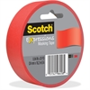 "Scotch Expressions Masking Tape - 0.94"" Width x 60 ft Length - Writable Surface, Easy Tear - 1 Roll - Primary Red"