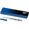 Montblanc Ballpoint Pen Refill - Broad Point - Pacific Blue Ink - 1 Each