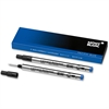 Montblanc Rollerball Pen Refill - Medium Point - Pacific Blue Ink - 2 / Pack