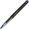 Uni-Ball 0.7mm Rollerball Pens - Medium Point Type - 0.7 mm Point Size - Conical Point Style - Blue Hybrid Ink - Black Barrel - 1 / Each