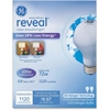 GE Energy-efficient Reveal 72W A19 Bulb - 72 W - 120 V AC - A19 Size - White - E26 Base - 1000 Hour - 4940.3°F (2726.8°C) Color Temperature - 100 CRI - Energy Saver - 2 / Box