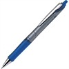 Acroball Pro Advanced Ink Ballpoint Pen - Medium Point Type - 1 mm Point Size - Refillable - Blue Advanced Ink Ink - Silver Barrel - 1 Dozen
