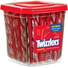 Twizzlers Strawberry Twists - Strawberry, Licorice - Individually Wrapped, Reusable Container, Low Fat - 3.59 lb - 180 / BoxBox