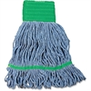 Impact Products Cotton/Synthetic Blend Saddle-Type Looped-End Wet Mop with Tailband - Cotton