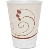 Solo Cup - 12 fl oz - 100 / Pack - Beige - Foam - Hot Drink, Cold Drink, Beverage