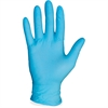 ProGuard General Purpose Nitrile Powder-free Gloves - Medium Size - Nitrile - Blue - Ambidextrous, Puncture Resistant, Disposable, Powder-free, Allergen-free, Beaded Cuff, Comfortable, Textured Grip -