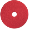 "Impact Products Red Spray Buffing - 18"" Diameter - 5/Carton - Fiber - Red"