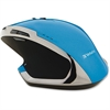 Verbatim Wireless Desktop 8-Button Deluxe Blue LED Mouse - Blue - Blue LED - Wireless - Radio Frequency - Blue - USB - 1600 dpi - Notebook, Computer - Scroll Wheel - 8 Button(s)