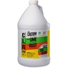 Calcium, Lime & Rust Remover - Liquid Solution - 1 gal (128 fl oz) - 4 / Carton - Clear