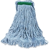 Rubbermaid Commercial Super Stitch Mop Head Refill - Cotton, Synthetic Yarn