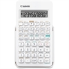 "Canon F-605 Scientific Calculator - Easy-to-read Display, Large Display, Hard Shell Cover, Durable - 3.4"" x 8.9"" x 14.1"" - Black - Plastic - 1 Each"