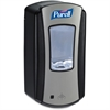 Purell LTX-12 Dispenser - Automatic - 40.6 fl oz (1200 mL) - Black, Chrome