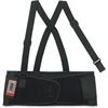 "ProFlex Economy Elastic Back Support - Adjustable, Strechable, Comfortable - 30"" Adjustment - Strap Mount - 7.5"" - Black"