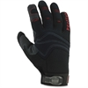 PVC Handler Gloves - 9 Size Number - Large Size - Polyvinyl Chloride (PVC) Palm, Polyvinyl Chloride (PVC) Fingertip, Woven Cuff, Terrycloth Thumb, Spandex Knuckle, Neoprene Knuckle, Spandex Ba