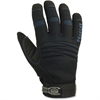 ProFlex Thermal Utility Gloves - 11 Size Number - XXL Size - Synthetic Leather Palm, Woven Cuff, Terrycloth Thumb, Spandex Back, Neoprene Knuckle - Black - Thinsulate Lining, Reinforced Palm Pad, Elas