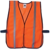 GloWear Ergodyne GloWear Orange Standard Vest - Fabric, Polyester Mesh - Orange - 1 / Each