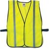 GloWear Ergodyne GloWear Lime Standard Vest - Standard Size - Fabric, Polyester Mesh - Lime - 1 / Each