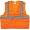 GloWear GloWear Class 2 Orange Super Econo Vest - Large/Extra Large Size - Polyester Mesh - Orange - 1 / Each