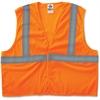 GloWear Ergodyne GloWear Class 2 Orange Super Econo Vest - 2-Xtra Large/3-Xtra Large Size - Polyester Mesh - Orange - 1 / Each