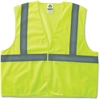 GloWear GloWear Class 2 Lime Super Econo Vest - 2-Xtra Large/3-Xtra Large Size - Polyester Mesh - Lime - 1 / Each