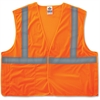 GloWear GloWear Orange Econo Breakaway Vest - 2-Xtra Large/3-Xtra Large Size - Polyester Mesh - Orange - 1 / Each