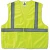 GloWear Ergodyne GloWear Lime Econo Breakaway Vest - Large/Extra Large Size - Polyester Mesh - Lime - 1 / Each