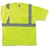GloWear Class 2 Reflective Lime T-Shirt - Small Size