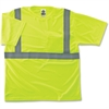 GloWear Class 2 Reflective Lime T-Shirt - Medium Size