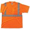 GloWear Class 2 Reflective Orange T-Shirt - Medium Size
