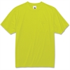 GloWear Non-certified Lime T-Shirt - Extra Extra Large (XXL) Size