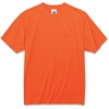 GloWear Non-Certified Orange T-Shirt - Medium Size