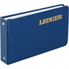 """Wilson Jones® Ring Ledger Outfit - Complete System, Blue, 5 1/2"""" x 8 1/2"""""""