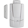 FireKing Magnetic Door & Window Contact Alarm - 110 dB - Audible - Window Mount, Door Mount - White