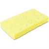 "Impact Products 7160P, Small Cellulose Sponge - 1"" Height x 3"" Width x 6.3"" Length - 6/Pack - Yellow"
