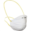 ProGuard Disposable Dust/Mist Respirator - Dust, Mist, Flying Particle, Pollen Protection - White - 20 / Box