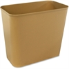 Impact Products Fire-Resistant Wastebasket - 6.75 gal Capacity - Fiberglass - Beige