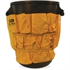 Vinyl Gator Caddy - 9 Pocket(s) - Yellow - Vinyl - 1Each