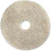 "Impact Products 27"" Natural Floor Pad - 27"" Diameter - 5/Carton - Fiber - Natural"