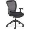 "Nightingale MXO Mid-back Conference Chair - Fabric Black Seat - Black Back - 5-star Base - 19"" Seat Width x 18.50"" Seat Depth - 25"" Width x 24"" Depth x 38.5"" Height"
