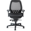 "Nightingale SXO Executive Mid-back Chair - Fabric Black Seat - Black Back - 5-star Base - 20"" Seat Width x 20"" Seat Depth - 27"" Width x 27"" Depth x 42.5"" Height"