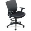 "Nightingale VXO Mid-back Task Chair - Fabric Black Seat - Black Back - 5-star Base - 20.75"" Seat Width x 19.50"" Seat Depth - 25.5"" Width x 24.8"" Depth x 40"" Height"
